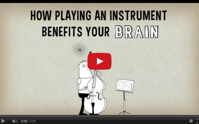 How playing an instrument benefits your brain – Anita Collins