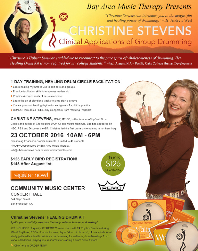 Clinical-Applications-of-Group-Drumming-Flier-20161023